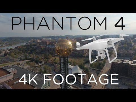 DJI Phantom 4 Footage (Knoxville, TN)