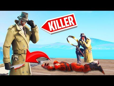 The INVESTIGATOR Was Secretly A MURDERER! (Fortnite Murder Mystery)