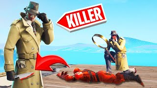 The INVESTIGATOR Was Secretly A MURDERER! (Fortnite Murder Mystery)