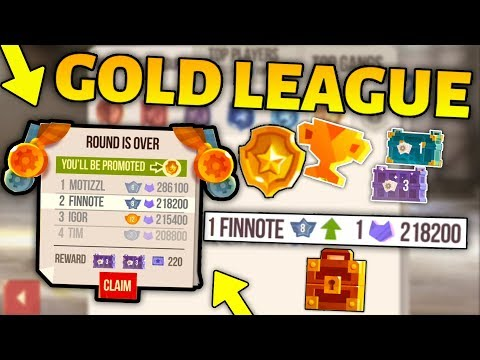 PROMOTING TO GOLD LEAGUE in C.A.T.S - Ultimate Crash Arena Turbo Stars