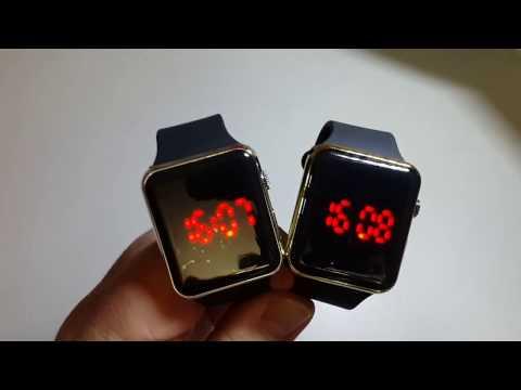 Инструкция по настройке Led  Watch S2 S1 часов. Как настроить лед часы