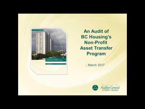 An Audit of BC Housing's Non-Profit Asset Transfer Program