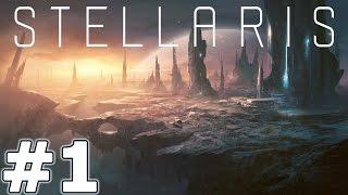 Lets Play Stellaris Part  1 - The Neg Swarm - Stellaris PC Gameplay