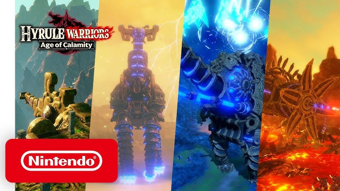 Hyrule Warriors Age Of Calamity Unleashing The Divine Beasts Youtube