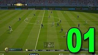 FIFA 16 Ultimate Team - Part 1 - First Game! (FUT Let's Play Gameplay)