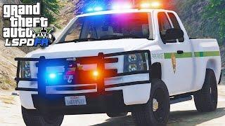GTA 5 LSPDFR SP #133 - Police Station Attack