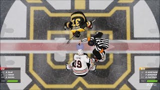 NHL 20 - Boston Bruins vs Chicago Blackhawks - Gameplay (PS4 HD) [1080p60FPS]