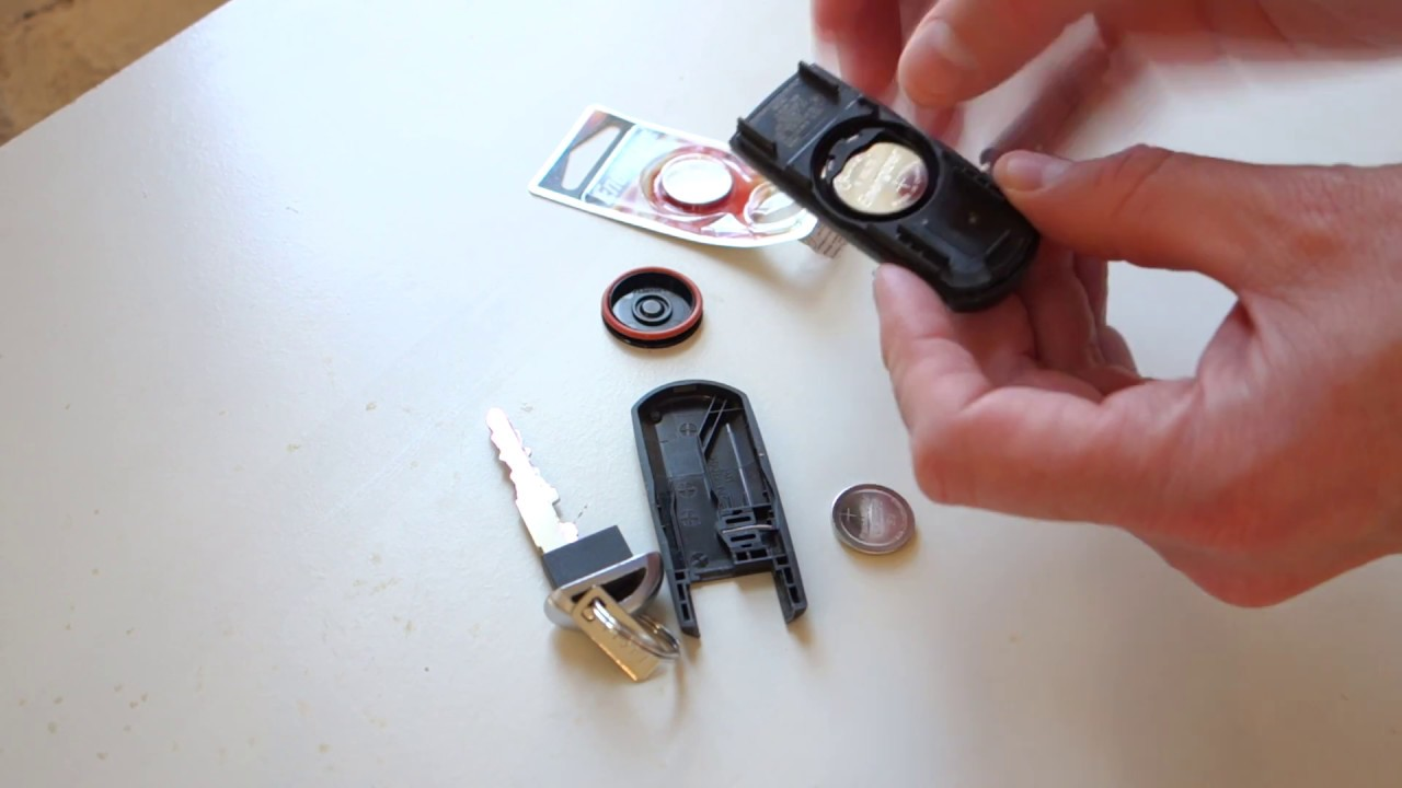 Mazda Keyless Remote Fob Battery Replacement Youtube