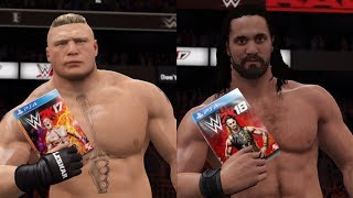 All WWE 2K Games Covers! (WWE 2K14 - WWE 2K18) - PC