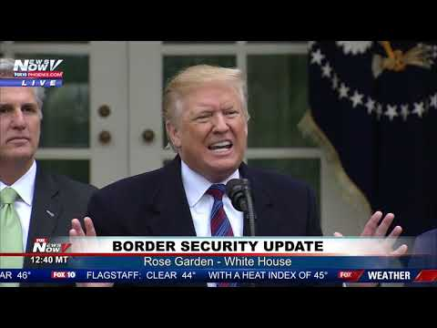 WATCH: President Trump SLAMS Reporter Over Steel Vs. Concrete Border Wall