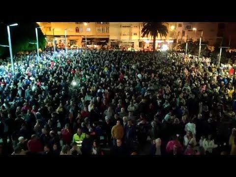 Apoyo masivo a los trabajadores de Alcoa en Burela