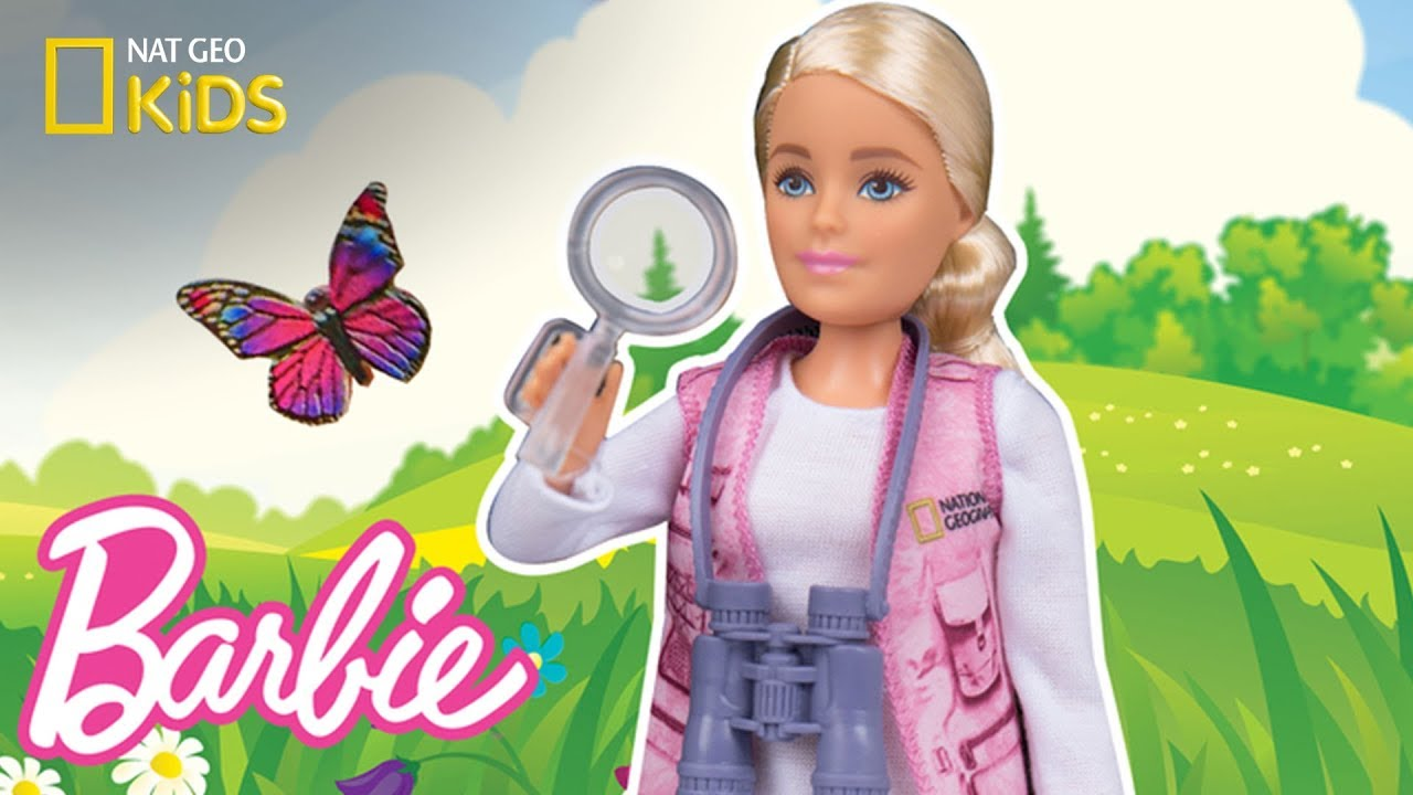 Bug Fright with Barbie® National Geographic Dolls | Nat Geo Kids
