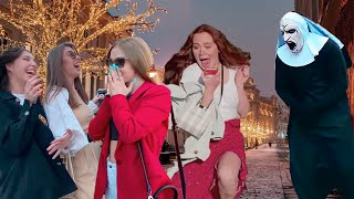 The Nun Prank! Only the Most Beautiful Girls! A Compilation Of The Craziest Reactions Ever!