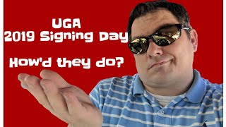 2019 UGA BULLDOGS RECRUITING CLASS Signed!!!! National signing day. Kirby is killing it!