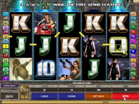 Tomb Raider - Secret of the Sword Slots game
