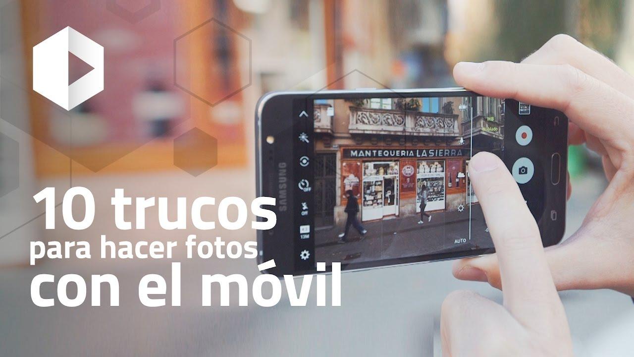 10 trucos para hacer fotos con el m vil youtube - Imagenes con trucos opticos ...