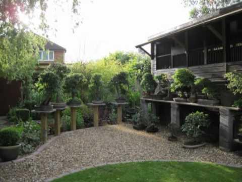 The Building Of A Bonsai Garden Mpg Youtube