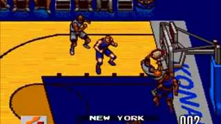 Double Dribble-The Playoff Edition - (Sega Genesis/Mega Drive)