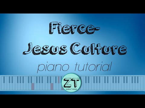 Fierce Keyboard Chords By Jesus Culture Worship Chords