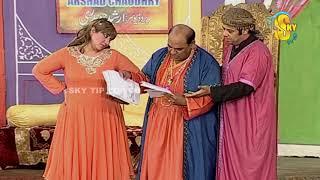Agha Majid and Amanat Chan Stage Drama Chuski Full Comedy Clip