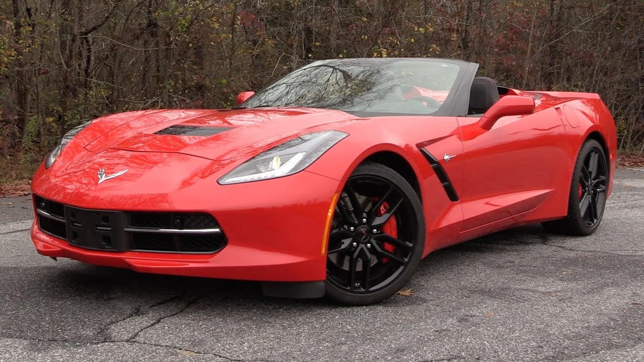2016 Chevrolet Corvette Stingray Z51 Convertible Start Up ...