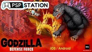 Godzilla Defense Force: Nuevo juego para iOS y Android PSP Station