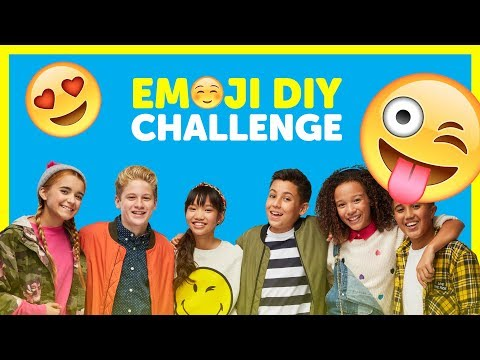 The Emoji DIY Challenge with The KIDZ BOP Kids