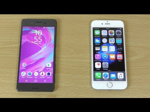 Sony Xperia X vs iPhone 6S - Full Review (4K)