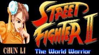 Street Fighter II - The World Warrior - Chun Li (Arcade)