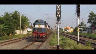 RARE SIGHT ALCo TWINS FOR CHENNAI - LTT  EXPRESS : INDIAN RAILWAYS