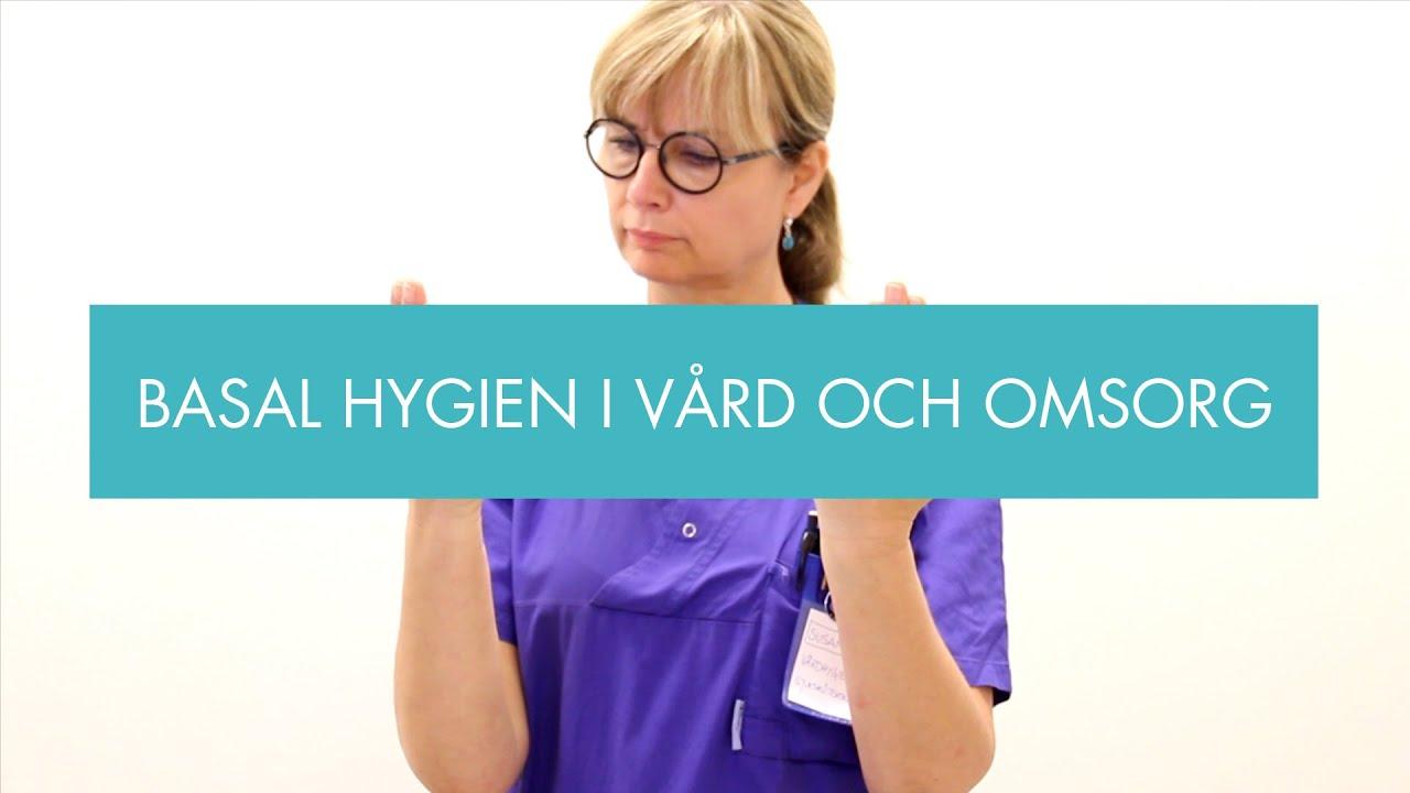 personlig hygien vård och omsorg