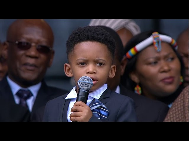 South African icon Winnie Madikizela-Mandela's great-grandchildren pay tribute to her.