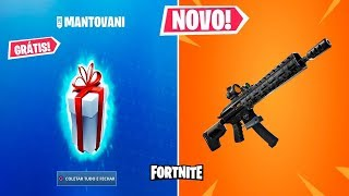 FORTNITE BUGOU, GIFTS and TACTICAL ASSAULT RIFLE!