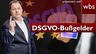 DSGVO-Bußgelder – Behörden greifen jetzt hart durch! | Rechtsanwalt Christian Solmecke