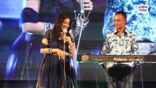 Sanjivani singing a Nepali songs