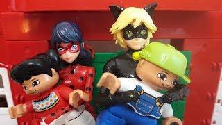 Леди баг и супер кот Злой учитель Мультик из игрушек