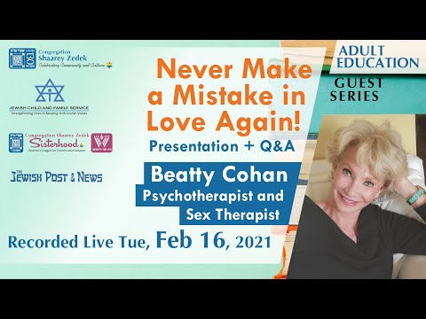 Never Make a Mistake in Love Again! With Beatty Cohan - YouTube