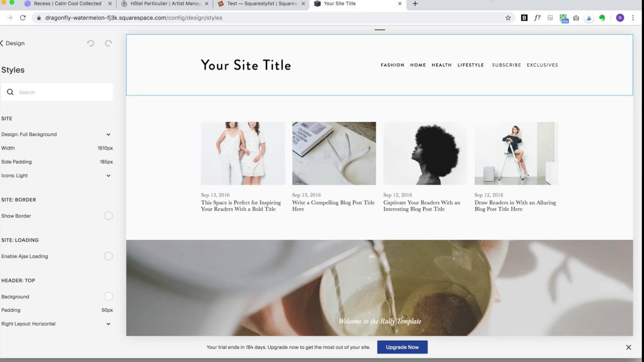 CSS Tutorial: Reveal Image on Hover — Squarestylist