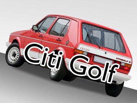 The VW Citi Golf - South Africa's Immortal Mk1 Golf