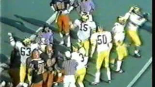1982 Michigan vs. Illinois  - Final 1:21