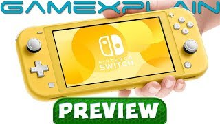 We Played with the Nintendo Switch Lite! - Hands-On PREVIEW