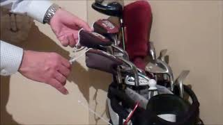 Mini Kaizen - No More Lost Golf Club Head Covers