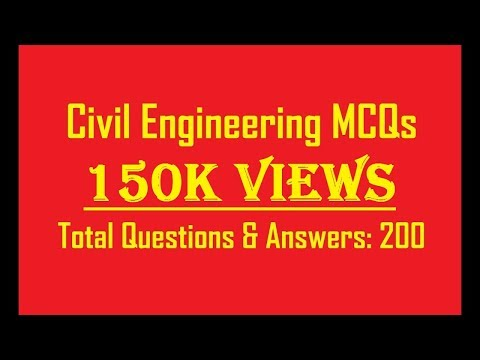 BUILDING MATERIALS 200 OBJECTIVE QUESTIONS  || CIVIL ENGINEERING OBJECTIVE || MCQs