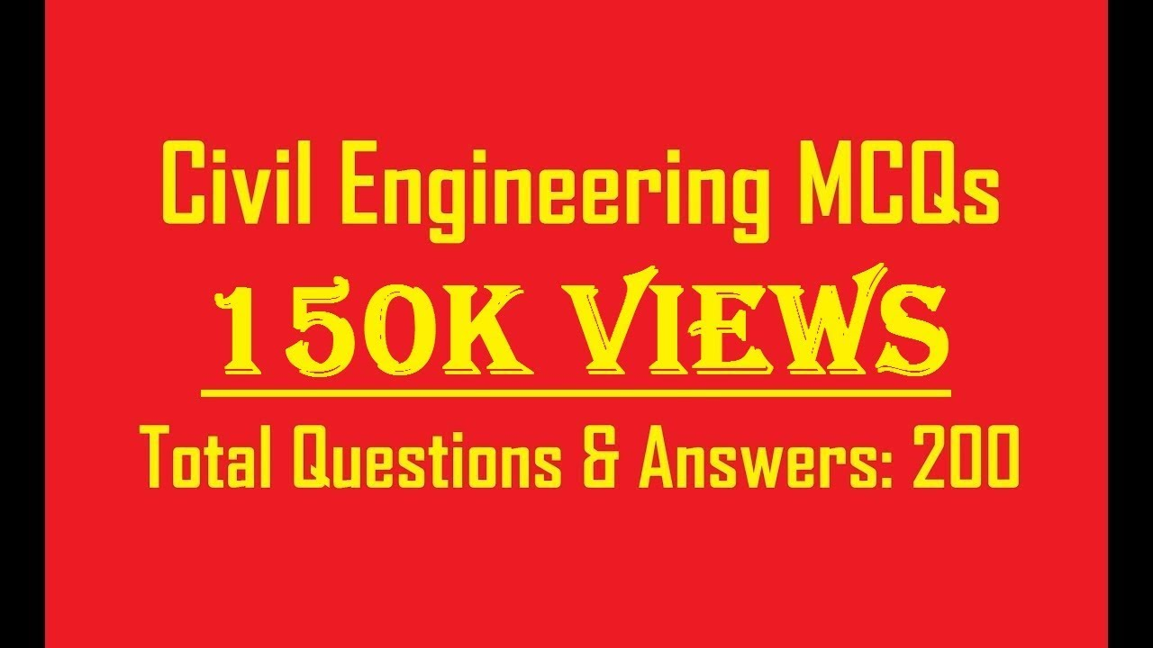 building materials 200 objective questions civil engineering