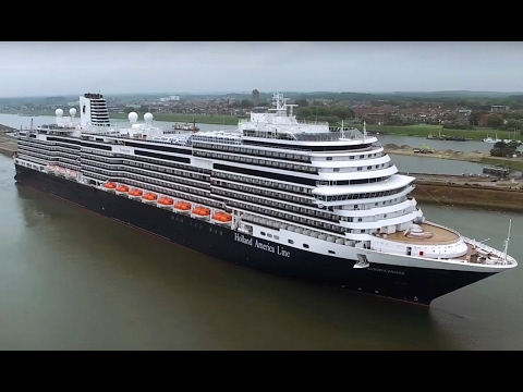 Drone flight Koningsdam - Holland American Line - Drone Addicts - Ijmuiden