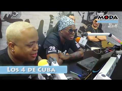 ¡Los 4 de Cuba en 'El show de Carloncho' de MODA!