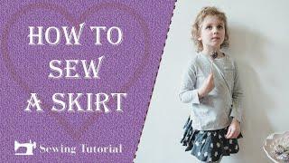 How To Make a Skirt   Tutorial   DIY