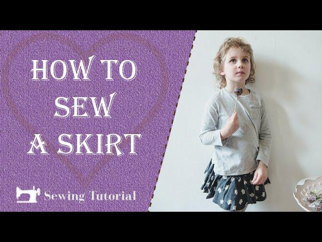 How To Make a Skirt | Tutorial | DIY