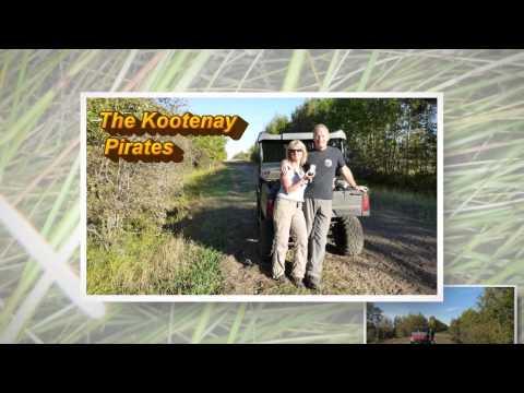 Kootenay Pirates - Alberta's Iron Horse Trail Sept 2014