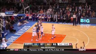 Stephen Curry 54pts vs. New York Knicks @ MSG on 2-27-13